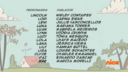 Creditos de doblaje The Loud House PTBR (S115-1)