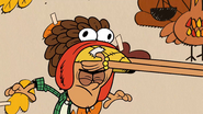 S3E21 Bobby wears turkey hat