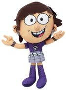 Nickelodeon The Loud House Luna 8-Inch Plush