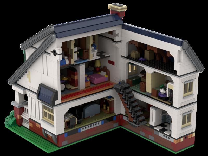 User Blog Charlesj Rosenbaum Lego The Loud House Home And