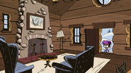 S2E26A Clyde alone in the cabin
