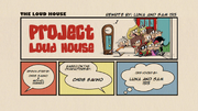 Project Loud House (Re-Written) Title Card -Luna and Sam 1515-