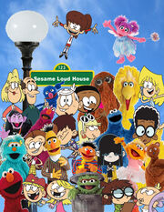 Sesame Loud House