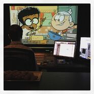 The Loud House Clyde McBride and Lincoln in the Kitchen