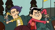 S03 E12B Lynn Sr and Kotaro with Their Cowbells