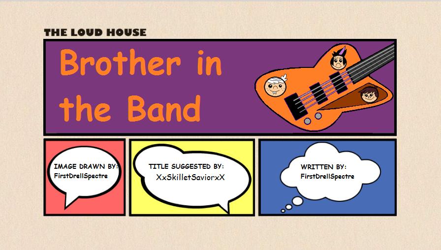 User blog:FirstDrellSpectre/Fanfiction - Bro in the Band