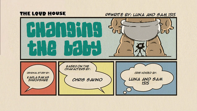 Changing the Baby (Re-Written) Title Card