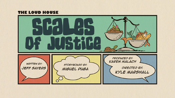 The loud house Temporada 03 Capitulo 14A - Escamas de justicia
