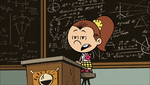 S1E15A Lisa as Luan giving her lesson