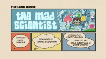 The loud house Temporada 03 Capitulo 09A -  El científico loco