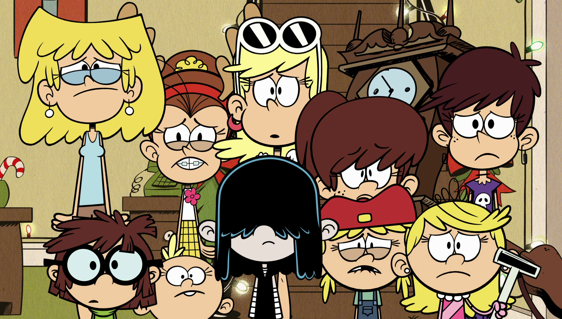 Image S2e01 Girls Looking Forlorn At Mr Grouse S Conditions Png The Loud House Encyclopedia