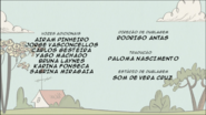 Creditos de doblaje The Loud House PTBR (S111-2)