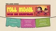 Roll Model with the Casagrandes Title Card