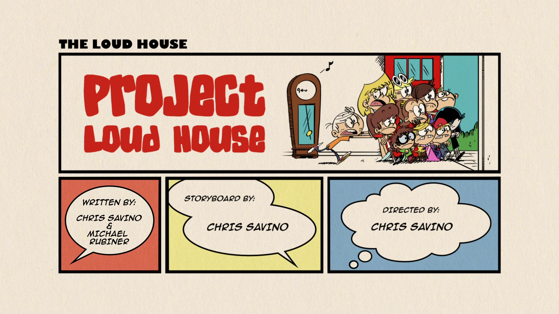 the loud house space invader script