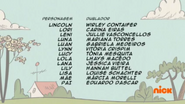 Creditos de doblaje The Loud House PTBR (S121-1)