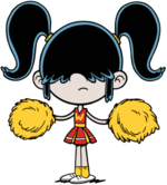 Cheerleader Lucy