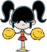 Cheerleader Lucy