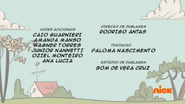 Creditos de doblaje The Loud House PTBR (S116-2)