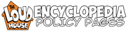 TLH Encyclopedia Policy Pages
