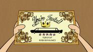 S1E16B Gala invitation