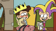S2E12B Luan and Benny rehearsing for a school play