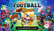 Nick Football Stars 2 Title Screen