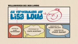 Die Verwandlung der Lisa Loud