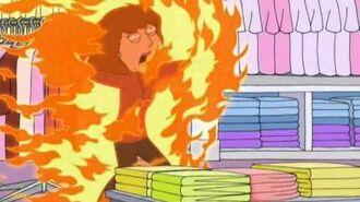 Family Guy On Fire