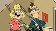 S4E06A Loud parents with fishing rods