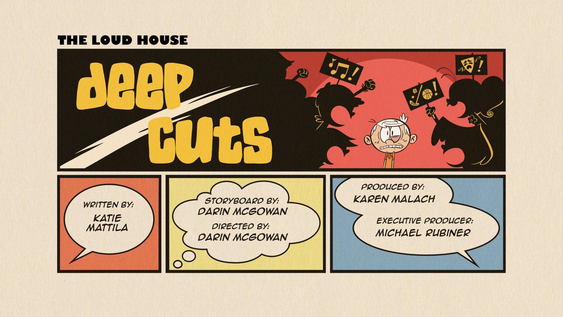 Deep Cuts The Loud House Encyclopedia Fandom