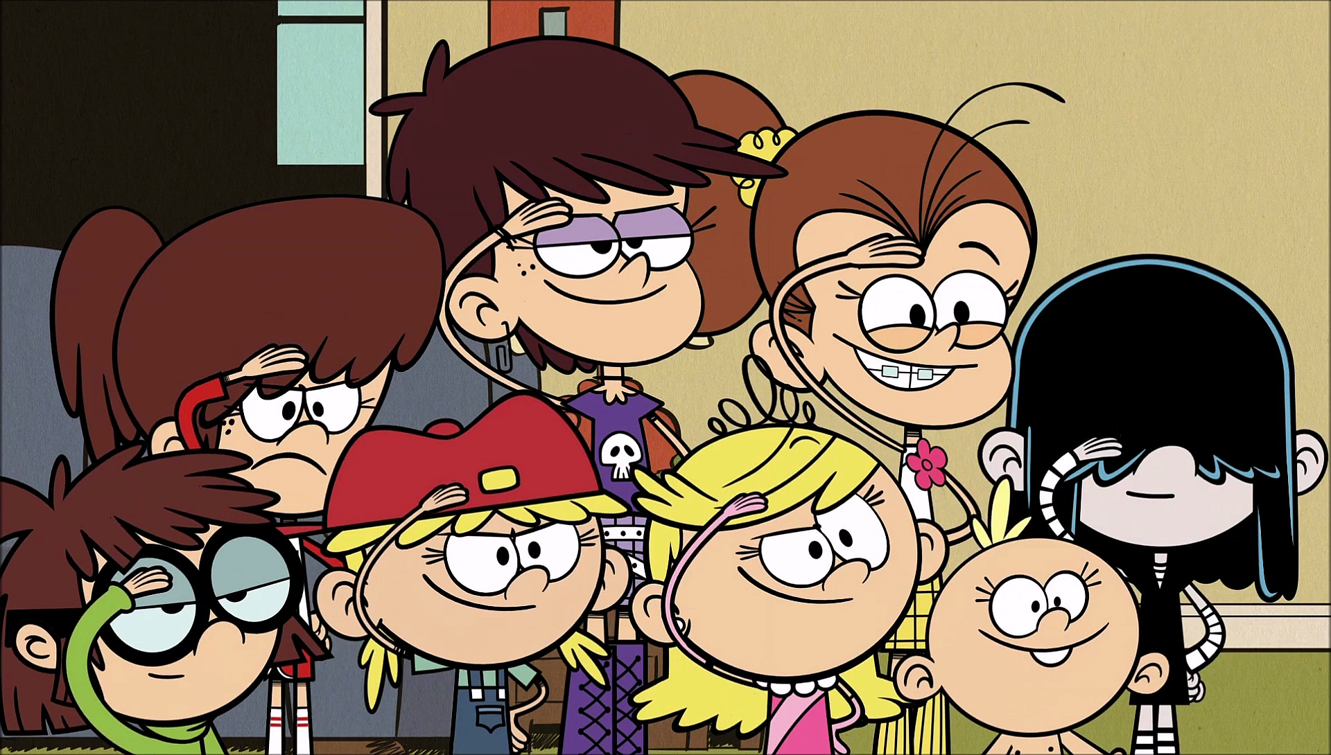 The Loud House Sisters: Image - S1E03A Sister Salute.png