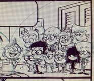 The Loud House Characters Cast Sketch