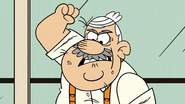 S3E02B Albert raises his fist