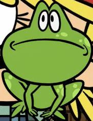 תוצאת תמונה עבור lana loud frog