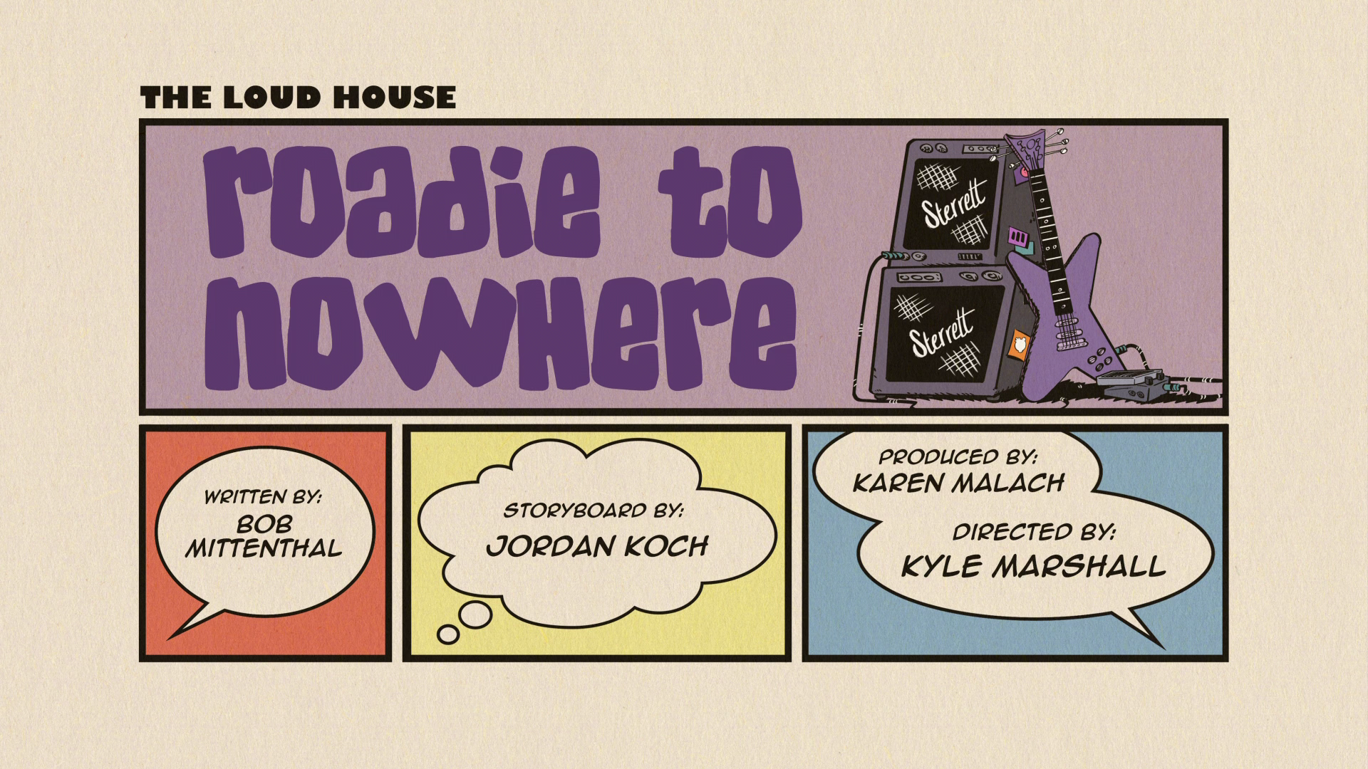 Roadie to Nowhere | The Loud House Encyclopedia | FANDOM powered by