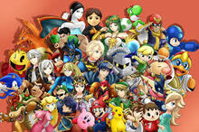 Super Smash Bros Characters