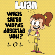 Luan Q&A Three Words