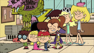 S1E18B Loud sisters kicked out
