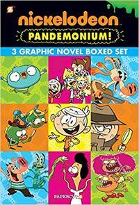 Nickelodeon Pandemonium Vol. 1,3 cover