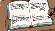 S3E15A Clyde's journal