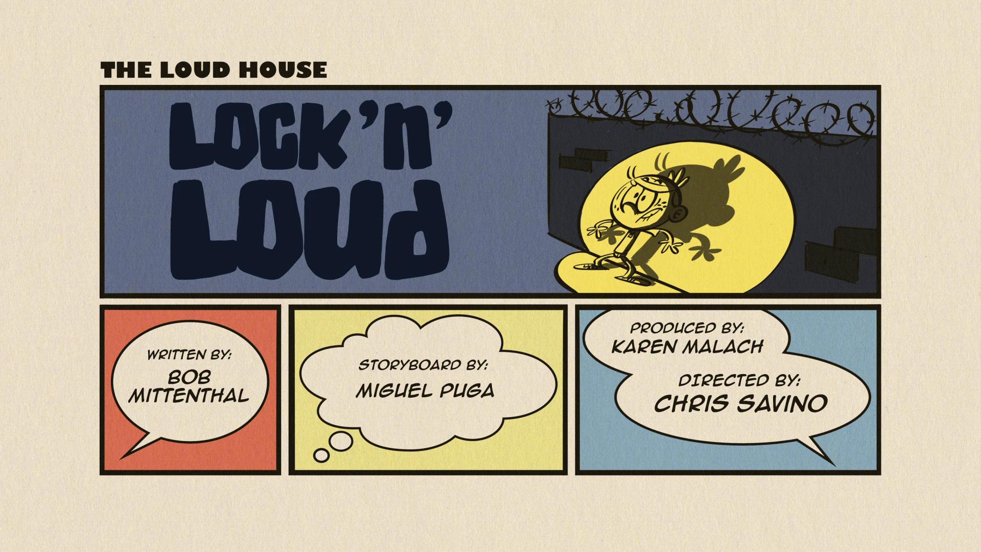 Lock 'n' Loud | The Loud House Encyclopedia | FANDOM powered by Wikia