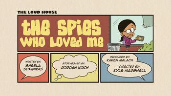 The loud house Temporada 03 Capitulo 16B - Los espías que me quieren