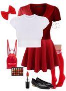 Preppy Red