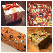 Loud Christmas Wrapping Paper