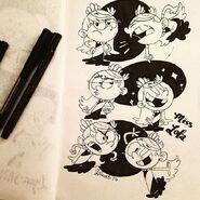 Lola sketches