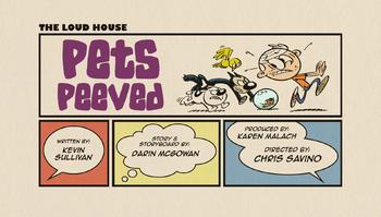 The loud house Temporada 02 Capitulo 11 -  Mascotas molestas   Ficción violenta