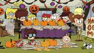 S2E24 Kids doing Halloween decorations