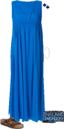 Blue prom outfit