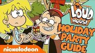 The Loud House Holiday Party Guide 🎄+ BONUS Clip Nick