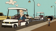 S3E15A Clyde's golf cart
